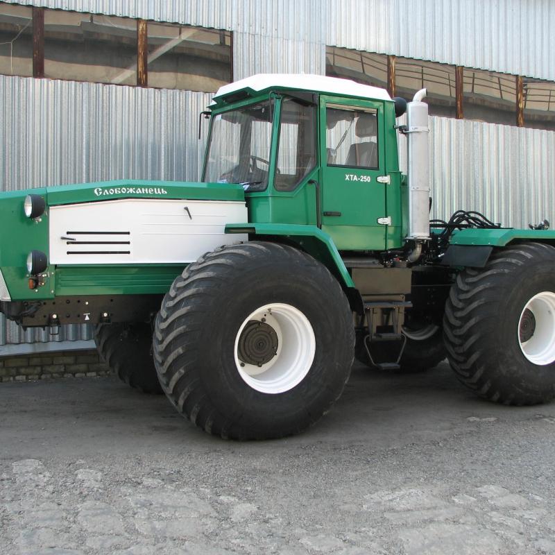 Шины сверхнизкого давления на тракторе Слобожанец