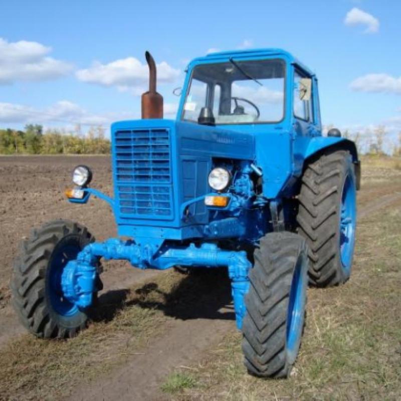 Давление в шинах трактора МТЗ-82